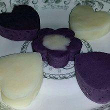 金露花&紫薯山药泥
