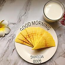#换着花样吃早餐#小猪佩奇同款煎薄饼