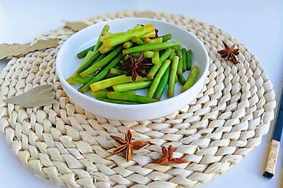 #母亲节,给妈妈做道菜#盐蒜苔