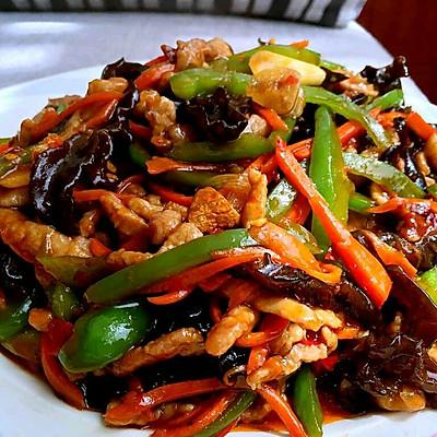 鱼香鸡丝~肉丝~老公说吃过最好吃的下饭菜