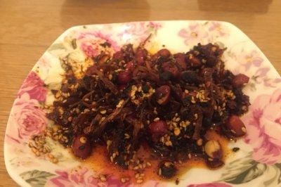香菌豆豉花生酱