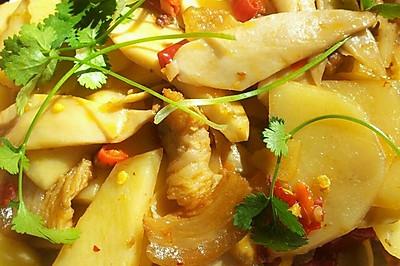 杏鲍菇焖土豆片