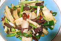 咸牛肉炒芥菜头的做法