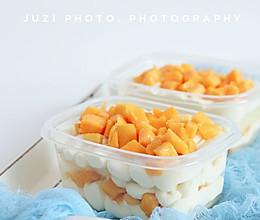 芒果多多盒子奶油蛋糕的做法