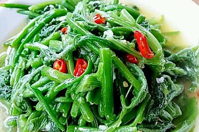 李孃孃爱厨房一一清炒南瓜藤(家常味)