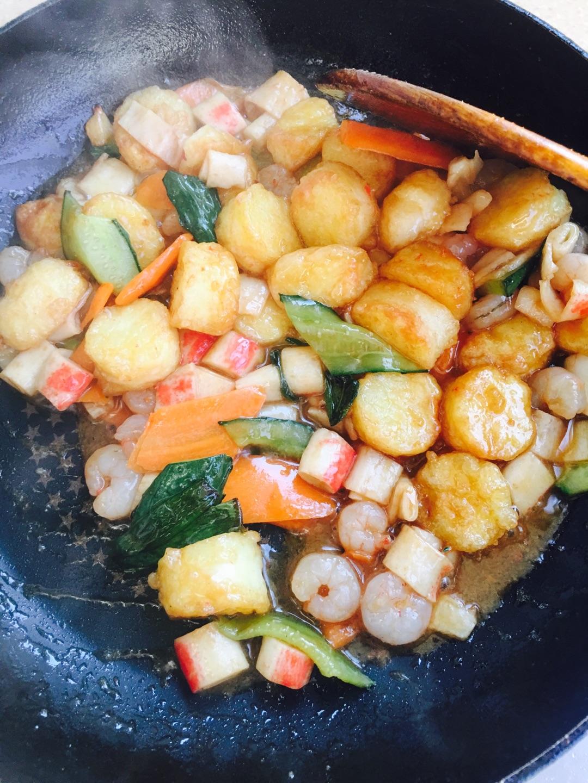 日本三鲜豆腐_适合儿童吃的三鲜日本豆腐的做法_菜谱_豆果美食