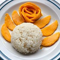 #麦子厨房#美食锅制作椰汁芒果糯米饭的做法图解9