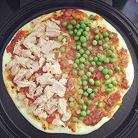 利仁电饼铛试用——海陆双拼披萨(附薄饼底与披萨酱制作)的做法图解10