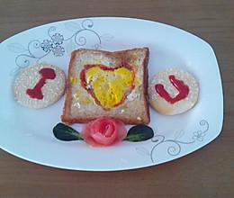 情人节早餐的做法