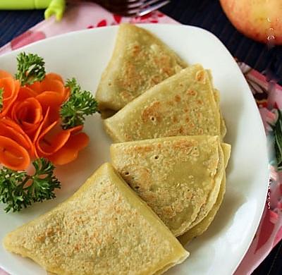 能带给你惊喜的苹果吃法--奶香苹果煎饼