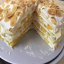 六寸芒果千层蛋糕