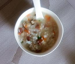牛肉菌菇粥的做法