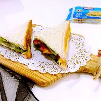 芝士三明治#百吉福食尚达人#
