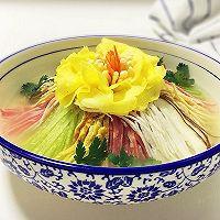 牡丹燕菜#蒸派OR烤派#