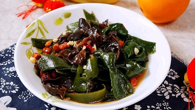 #福气年夜菜#凉拌海带结的做法
