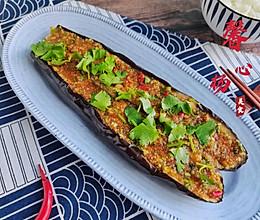 在家也能做完胜烧烤摊的蒜香烤茄子的做法