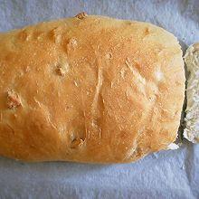 全麦核桃面包