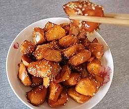 #我为奥运出食力#又香又甜的拔丝红薯的做法