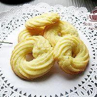 【奶香曲奇饼干】#长帝烘焙节#的做法图解9