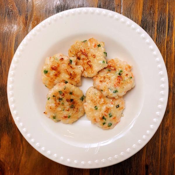 鲜甜Q弹的鲜虾饼(附一虾三吃法)