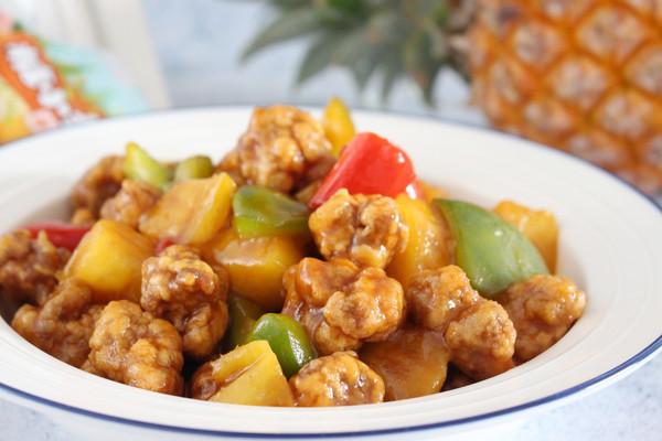 【菠萝咕咾肉】 酸酸甜甜的做法