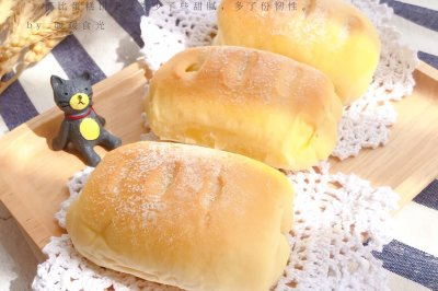 牛奶面包卷——超級軟超級好吃