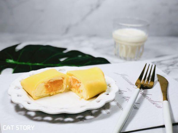 #秋天怎么吃#治愈系魔法甜品—芒果班戟的做法