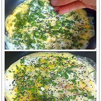 十分钟快手营养早餐——鸡蛋饼(原创)的做法图解8