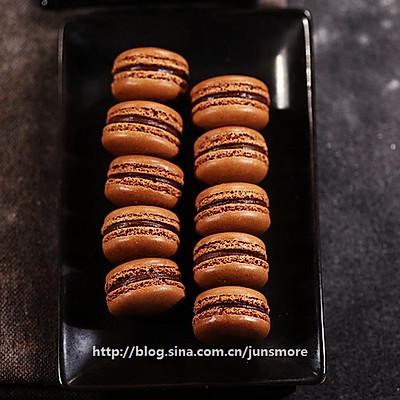 巧克力马卡龙