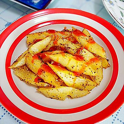 蒜香烤土豆