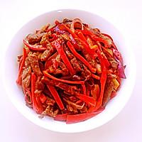 红椒牛柳——利仁电火锅试用菜谱的做法图解11