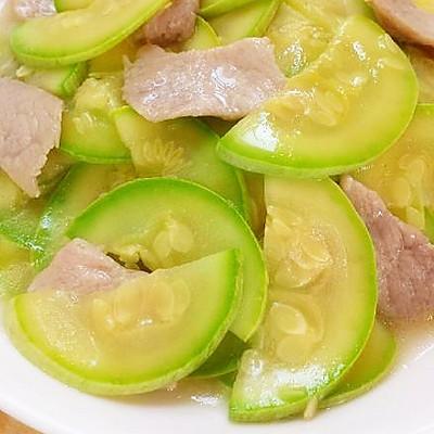 【家乐上菜,家常有味】 西葫芦炒肉片