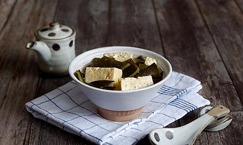 豆腐海带味增汤的做法