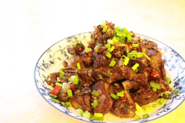 椒盐羊排的做法_好特酒店椒盐羊排菜图片