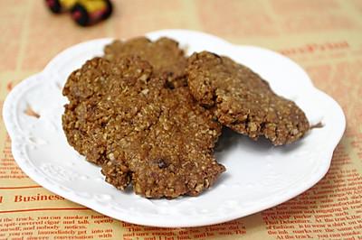 午后健康小零食:红糖燕麦饼干
