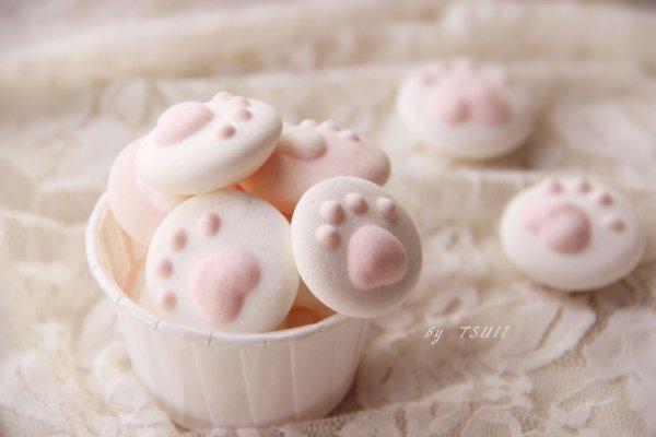 ·萌萌の猫爪棉花糖· 唤起童真的心 无水饴版的做法