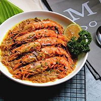 咖喱阿根廷红虾 #中粮我买,超模滋料大公开#
