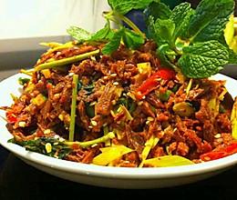 泰式干巴牛肉的做法