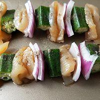 鸡肉洋葱彩蔬烤串#松下多面美味#的做法图解4