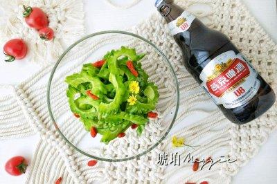 燕京U8啤酒冰苦瓜