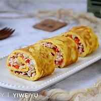 虾仁蛋卷#柏翠辅食节-营养佐餐#