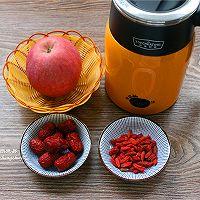 苹果红枣枸杞茶的做法图解1