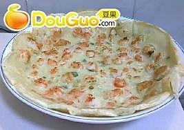 香葱虾饼的做法