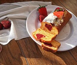 爱心香橙乳酪磅蛋糕的做法