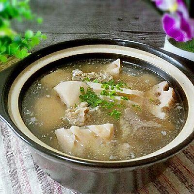 排骨煨藕汤