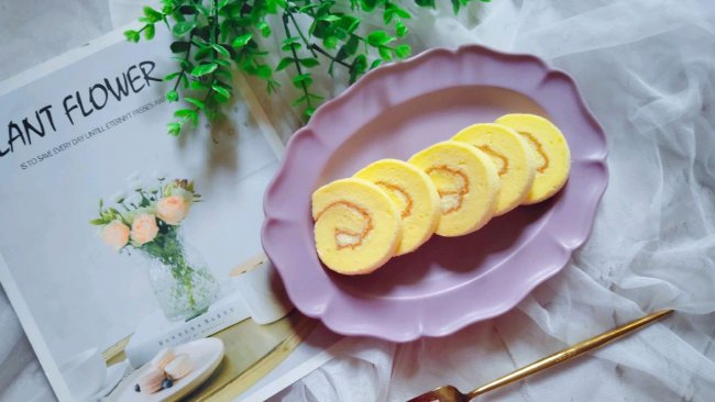 乳酪蛋糕卷的做法