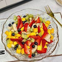 夏日小清新~低卡水果沙拉的做法图解8