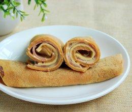 胡萝卜卷饼#百吉福芝士片创意早餐#的做法