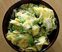 外婆家传菜之香葱炒蛋的做法