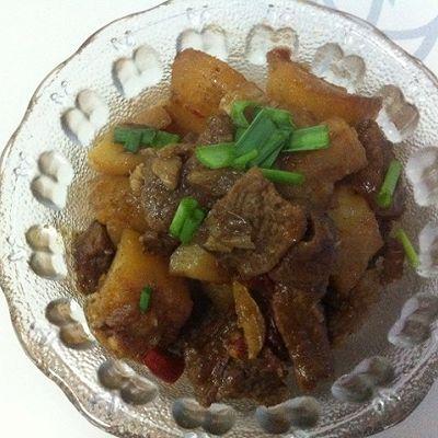 江苏年夜饭必备-火红香辣土豆牛肉的做法 步骤8